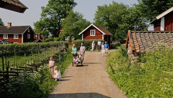 Åsens By in Smaland