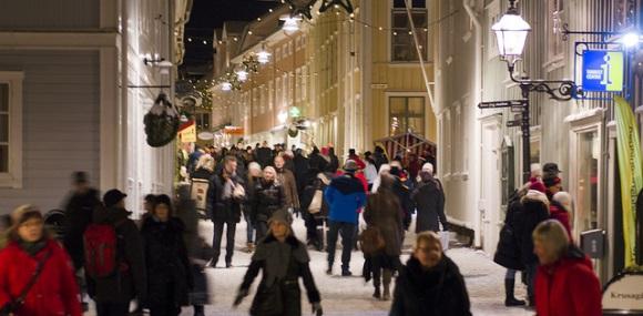 Weihnachten in Småland - Markt in Eksjö
