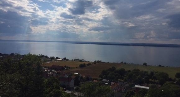 Ausblick auf Gränna und den Vätternsee
